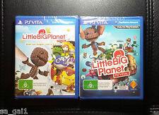PS Vita Games Bundle - PSVITA *NEW/SEALED Little Big Planet LittleBigPlanet
