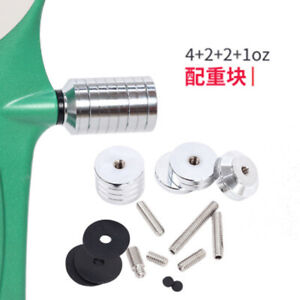 1x Stabilizer Weight Counterweight Kit Balance Weight for Recurve Compound Bow