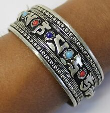 T110A GORGEOUS HAND CRAFTED TIBETAN  WRIST BENGAL/BRACELET  MADE IN NEPAL