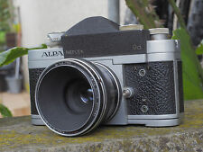 Camara Reflex Vintage ALPA 9d + Heinz Kilfitt Kilar 40mm 2.8  Macro 3.5X