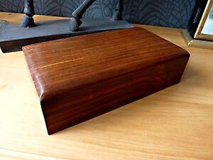 Quality Indian Hardwood Gift Box Incense Cones Stash Rolling Smoking Jewellery