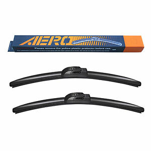 "AERO Voyager 15"" + 15"" OEM Quality All Season Beam Windshield Wiper Blades"