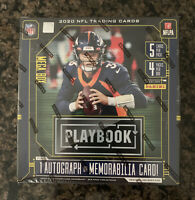Brand New Factory Sealed 2020 Panini NFL Playbook Football Mega Box