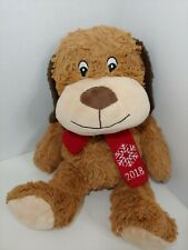New listing 2018 Pet Smart Chance brown tan Squeaker Plush Dog Toy Luv a Pet