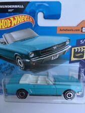 Hot Wheels 2020 * 65 Ford Mustang Convertible * 007 James Bond Thunderball