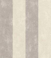 2,68 €/qm / Rasch Tapete Lucera / 608960 / Streifentapete / Streifen Creme Grau