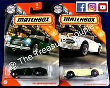 Matchbox - Lot of 2 - 1963 Austin HEALEY Roadster - 2 Variations - C43