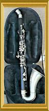 Metal Curved Bell & Barrel Albert System clarinet