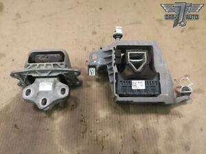 🥇14-19 MINI S F55 F56 B46 B48 SET OF 2 M/T TRANSMISSION ENGINE MOTOR MOUNT OEM