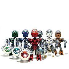 LEGO Bionicle Metru Nui Matoran Complete Set of 6: 8607 8608 8609 8610 8611 8612