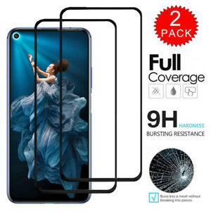 For Huawei Nova 5T Honor 20 Full Coverage Tempered Glass Film Screen Protector