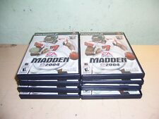 Lot of 8 Madden NFL 2004 for PS2 Sony PlayStation 2 CD Games
