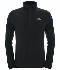 The North Face Glacier Delta 1/4 Zip Fleece Warm Pullover Jacket All Sizes M T92uapjk3 TNF Black