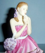 Royal Doulton Pretty Ladies Rebecca Figurine in Pink Gown HN5516 New In Box