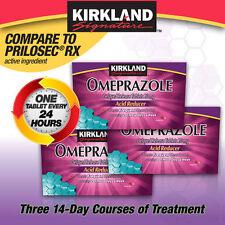 Kirkland Signature Omeprazole 20 mg 42 Tablets Free Shipping