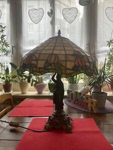 tischlampe tiffany stil Rumbatänzerin
