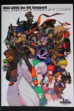 JAPAN Wild Arms 5 Vanguard Development Material Collection (Art Guide Book)