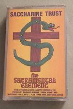 Saccharine Trust - The Sacramental Element - Cassette - SEALED Brand new SST
