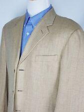Vestimenta Spa Mens Gold 3 Button Blazer Sport Coat U.S. Size 42R