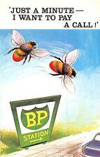 POSTCARD  COMIC   BAMFORTH     Bees   BP  Station