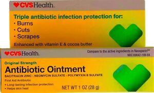Cvs original Strength Antibiotics ointment 1 Oz, Expiration 01/2021