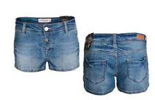 Jeans shorts donna pantaloncini denim elasticizzati corti sexy