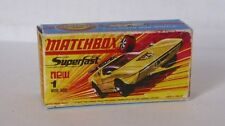 Repro Box Matchbox Superfast Nr. 1 Mod Rod