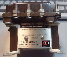 RELAY CUTLER -HAMMER Mod. NO. 9565H125  100A 3PST