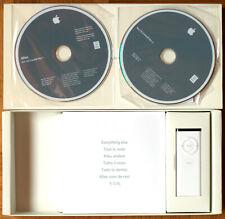 APPLE MACINTOSH • IMAC 2006 • SET INSTALLATION 2 DVD • OSX 10.4.7 + TELECOMMANDE