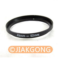 49mm-52mm 49-52 mm 49 to 52 Step Up Ring Filter Adapter