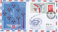 "PAF13 FDC ""60 years French Patrol - Muret / Aircraft ALPHAJET & MYSTERE IV"" 2013"