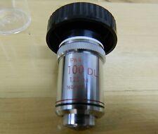 Nikon PH4 100DL 1.25 Oil 160/0.17 Objective