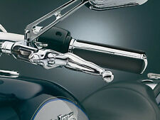 96-17 HARLEY DYNA/SOFTAIL Chrome Naked Woman Levers (Cable Clutch) Kuryakyn 1049