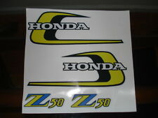 1974 Honda Z50 K5 Gas Tank and Side Panel decals