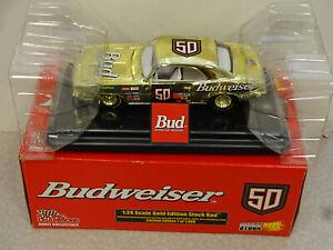 Racing Champions 1:24 Budweiser Gold Edition 1969 Chevy Camaro Stock Rod 1/1998
