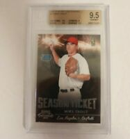 2011 Playoff Contenders Mike Trout BGS 9.5 Rookie Card #17