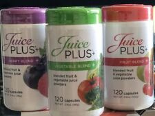 Juice Plus Trio - Fruit, Berry and Vegetable Blend Capsules. 2 Months Supply