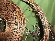 """15 feet of Grapevine Twig Garland Country Primitive Supply 1"""" THICKER VERSION"""
