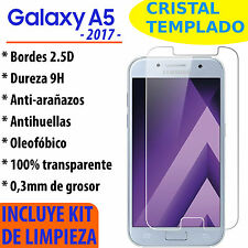 CRISTAL TEMPLADO PROTECTOR DE PANTALLA PARA SAMSUNG GALAXY A5 2017 VIDRIO