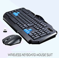Wireless Keyboard&Mouse Multimedia Set Bundle Black Bluetooth Freeshipping New