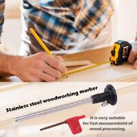 Line Tool Scribe Woodworking Aluminum Mortise Marking Gauge Dowels H Carpenter