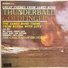 Great Themes From James Bond - The Cheltenham Orchestra Vinyl LP Record