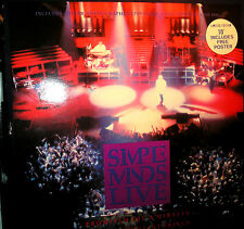 Simple Minds - Live - Promised You A Miracle - 10 inch - mit Poster - limited