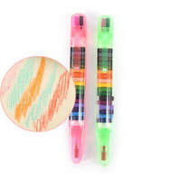 20Colors/Pc Wax Crayon Non-toxic washable Crayons Color Doodle Kid toy painting: