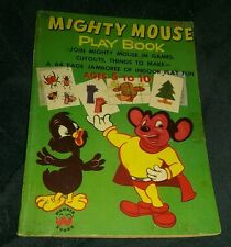 mighty mouse playbook 1954 wonder book new terry toons comics lot run collection