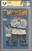 Wolverine #8 CGC 9.8 SS SIGNED Chris Claremont (Marvel 1989) Label - Hulk Cover