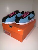 BV2527 400 MENS SIZE 9 / WOMENS 10.5 NIKE CORTEZ BASIC LEATHER 'SOUTH BEACH'