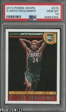 2013-14 Panini NBA Hoops #275 Giannis Antetokounmpo Bucks RC Rookie PSA 10