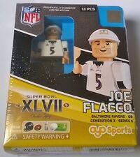 Joe Flacco Baltimore Ravens NFL Super Bowl XLVII Oyo Mattone Giocattolo Action Figure