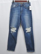 Joe's Jeans The Debbie High Rise Straight Ankle Distressed Size 25 NWT $158